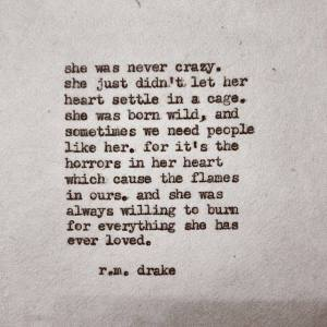 r m drake heart in a cage